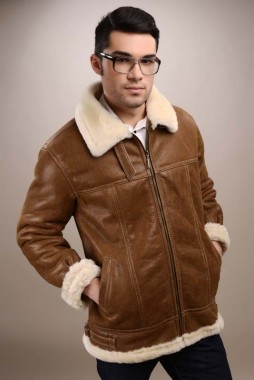 mens fur coat
